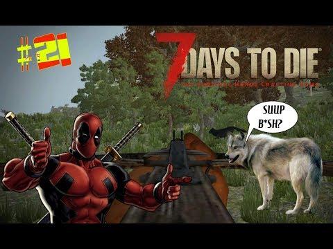 7 DAYS TO DIE : ALPHA 16 - #21 SAQUEOS , LOBOS Y FALTA DE ESPACIO (GAMEPLAY ESPAÑOL)