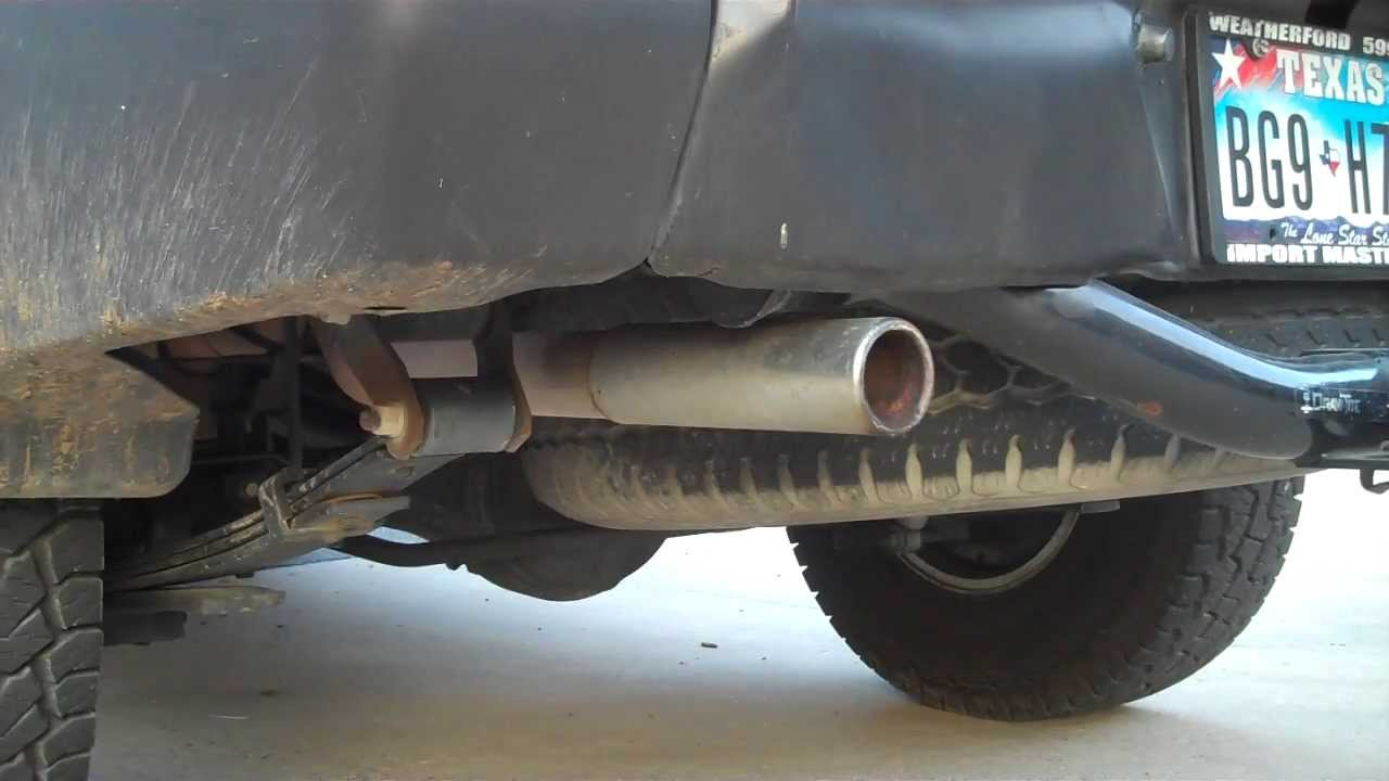 Nissan Xterra Flowmaster Super 44 Exhaust Youtube