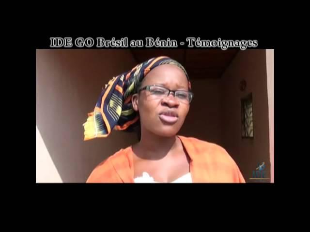 Testemunho Gaelle Projeto Benin - IDE GO