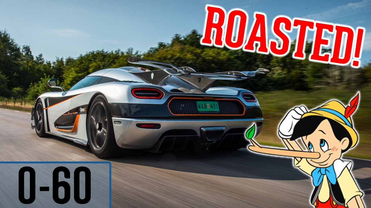 Fake Koenigsegg One 1 Owner Gets Roasted 0 60 2