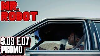 """[Mr Robot] Season 3 Episode 7 Promo Trailer   """"eps3.6_fredrick+tanya.chk""""   S3x07"""