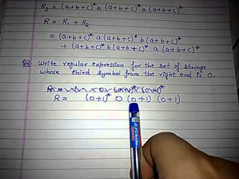 Regular expression example 2