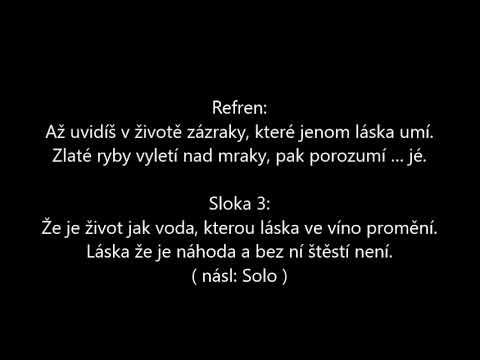 Život je jen náhoda, Werich Woskovec, karaoke, Yamaha PSR640