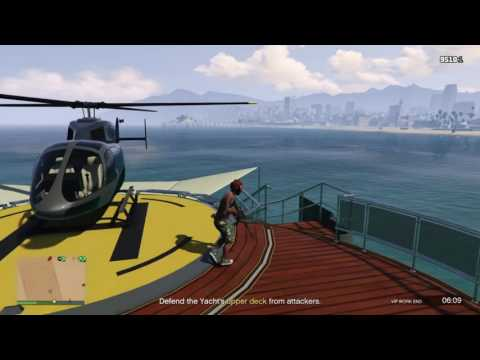 GTA Online PS4 - Lone Piracy. Terrible Sniping. Why JETS HAVE NO PLACE ONLINE