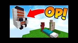 INSANE TNT CANNON IN MINECRAFT BED WARS!