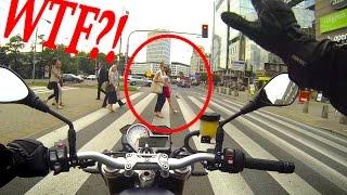 ONBOARD BMW S1000R: scaring pedestrians & filtering traffic