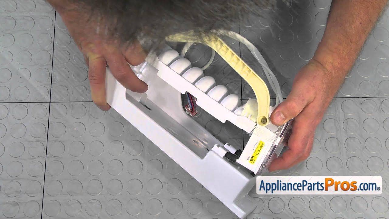 Refrigerator Icemaker Assembly (part #DA97-00258C) - How To Replace