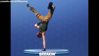 Fortnite ALL 38 Emotes/Dances + Their real life original references.