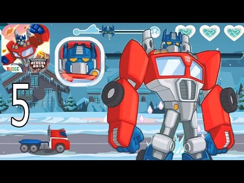 Transformers Rescue Bots: Disaster Dash Hero Run - IPhone Gameplay Walkthrough Part 5