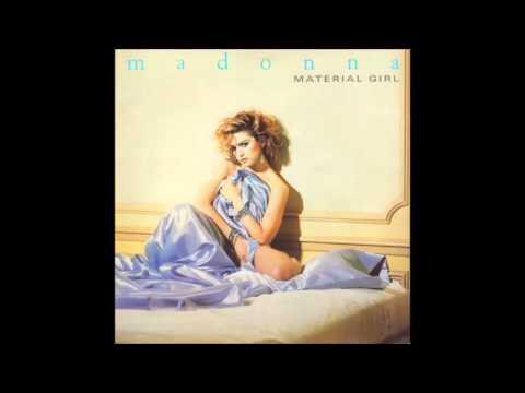 Madonna - Material Girl (Jellybean Dance Remix)