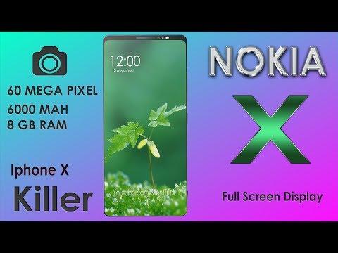 NOKIA X 2018 Trailer Concept Introduction | 6O MEGA PIXEL' s.