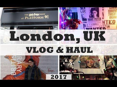 The Wizarding World of LONDON - Vlog + Haul
