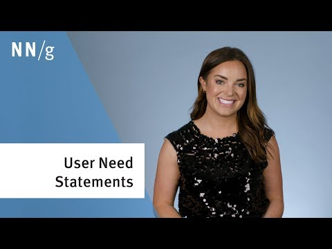User Need Statements In Design Thinking