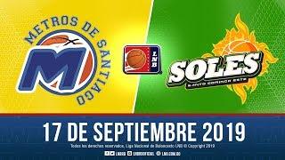 LNB Metros De Santiago VS Soles  17 9 2019