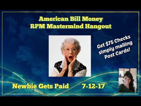 American Bill Money | Legit Opportunity! Newbie Gets Paid! Hear Her Story!