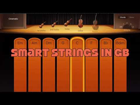 Smart Instruments in GarageBand for iSO