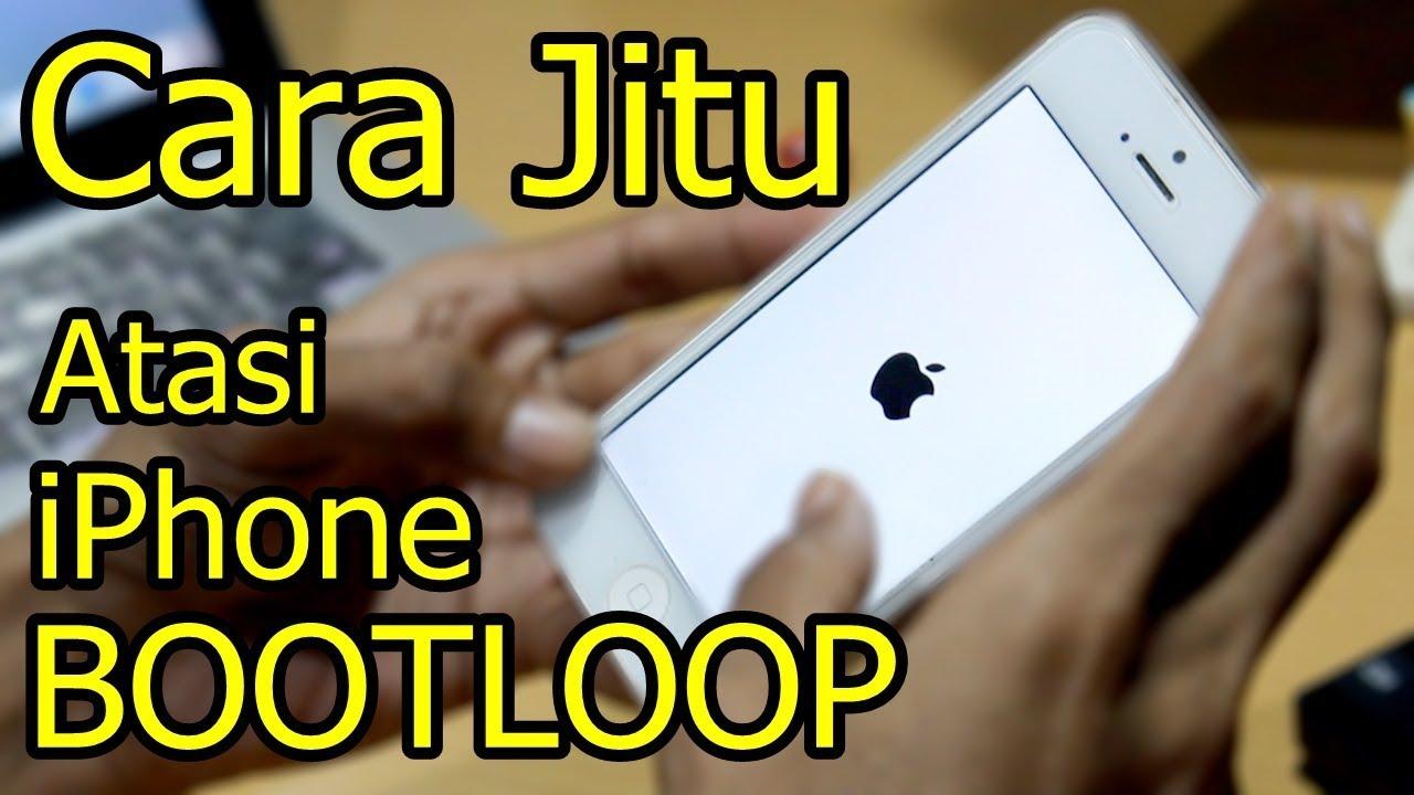 Cara Mengatasi iPhone Stuck di Logo Apple / iPhone Hanya Muncul Logo Apple  Saja