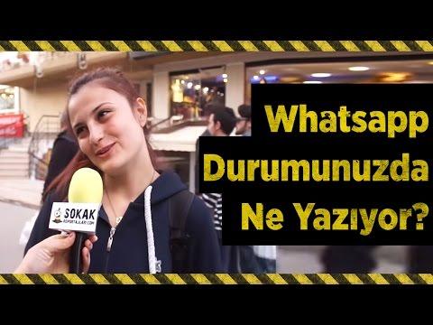 WHATSAPP DURUMUNUZDA NE YAZIYOR? (#291)