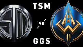 Highlights from the LCS Spring 2019, week 2 matchup between TSM and...