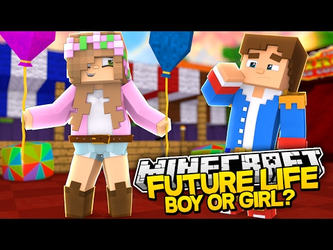 IS LITTLE KELLYS BABY A BOY OR GIRL?! Minecraft Future Life