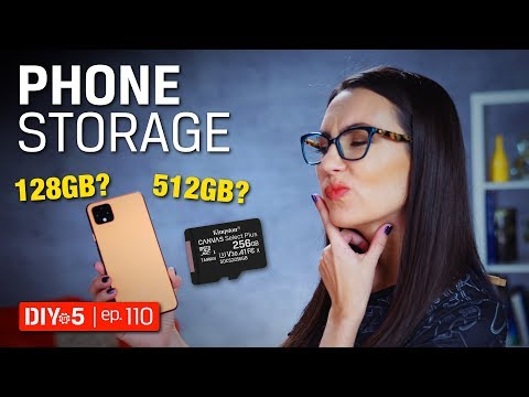 Smartphone Tips 📱💾 - How Much Phone Storage Do You Need? - DIY In 5 Ep 110