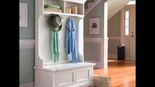 Hall Trees Entryway Bench And Hall Tree Ideas Storage Bench