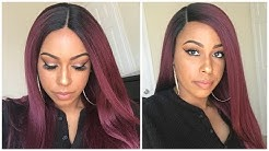 Sensationnel Empress Boutique Free Part Lace Front Wig - Kinky Straight   Glamourtress.com