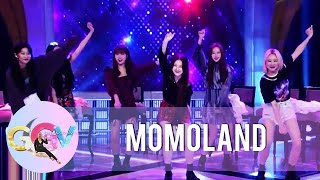 Momoland performs