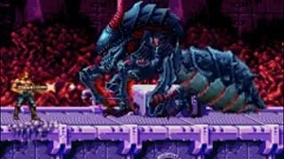 Contra 4 Hard (No Deaths, Power Ups) Boss 09 Black Viper