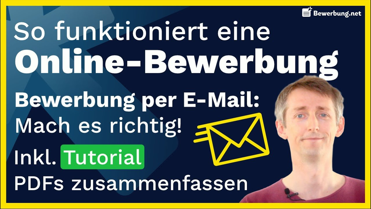 Bewerbung Per Email Erfolgreich Meistern Bewerbungsprofi Net 11