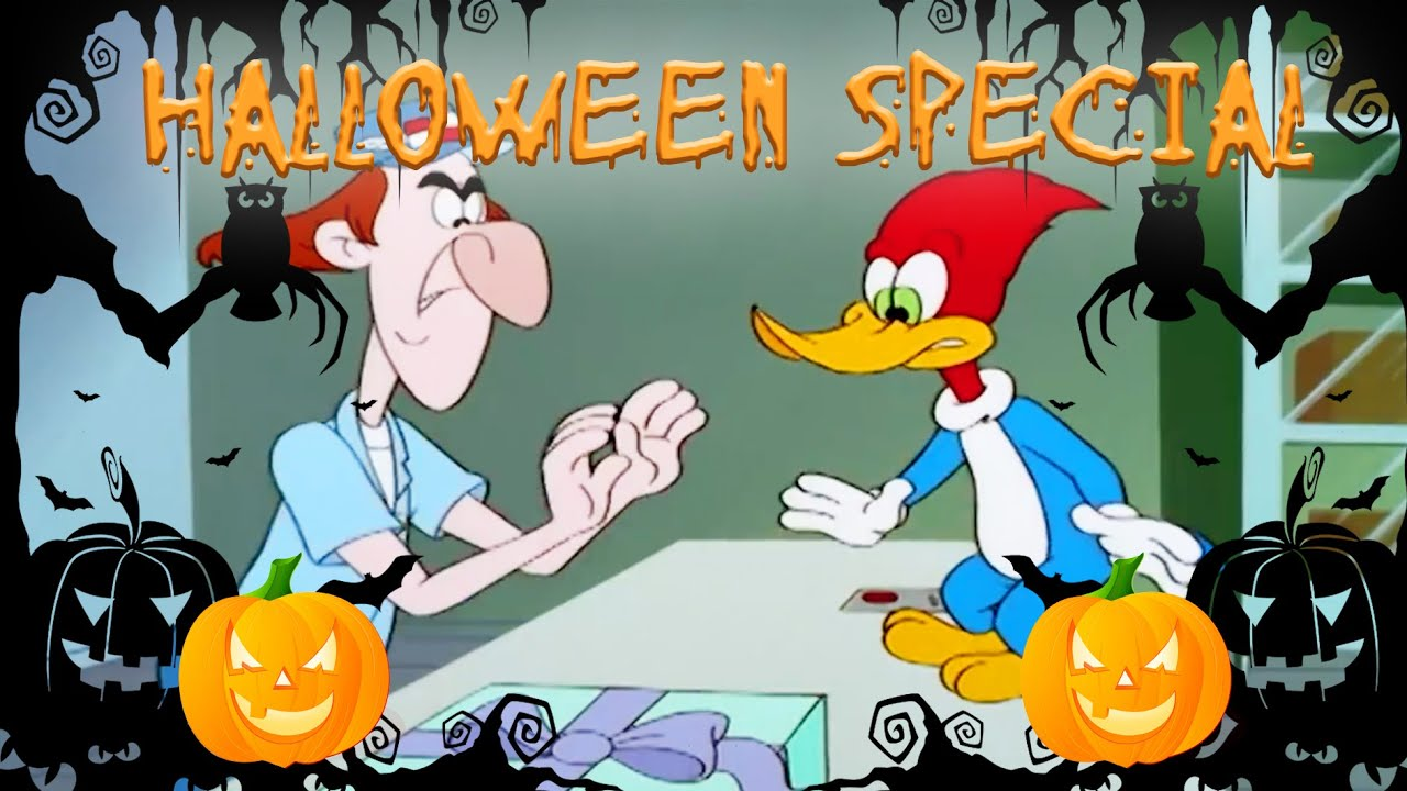 🎃 Woody's Delivery Nightmare 🎃   Woody Woodpecker   Full Episode   Animated Cartoons For Children