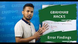 English Hacks: Grammar Short-Cuts