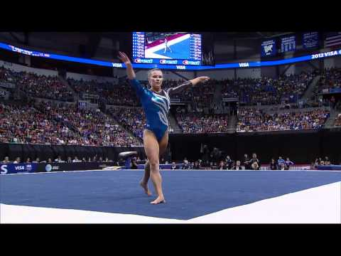 Bridget Sloan - Floor - 2012 Visa Championships - Sr. Women - Day 2