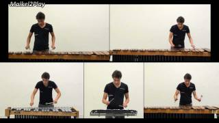 Harry Potter Medley on Marimba