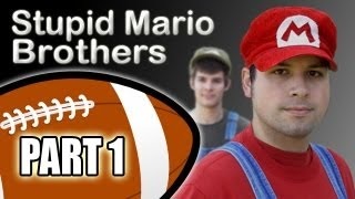 Stupid Mario Brothers Football - Part 1 of 4