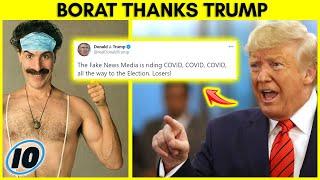 Sacha Baron Cohen Thanks Trump For This