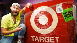 We Bought A Giant Mystery Crate of Target Returns!