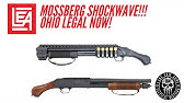 Mossberg Shockwave Wood Grips Furniture Refinish Stain - YouTube