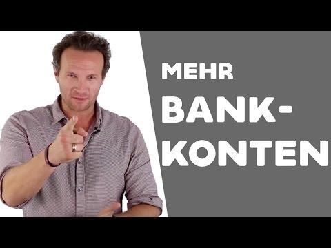 Wieso du mehrere Bankkonten brauchst, um reich zu werden...