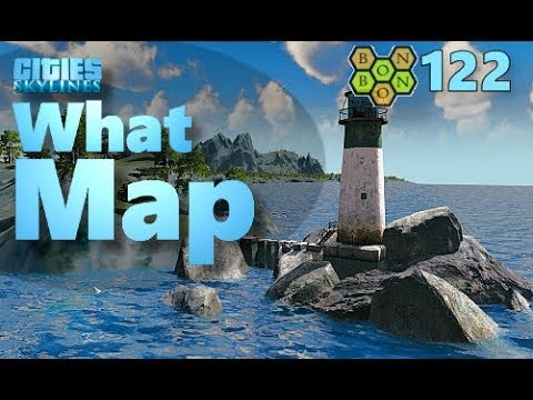 Cities Skylines - What Map - Map Review 122 - The Ancient Shores