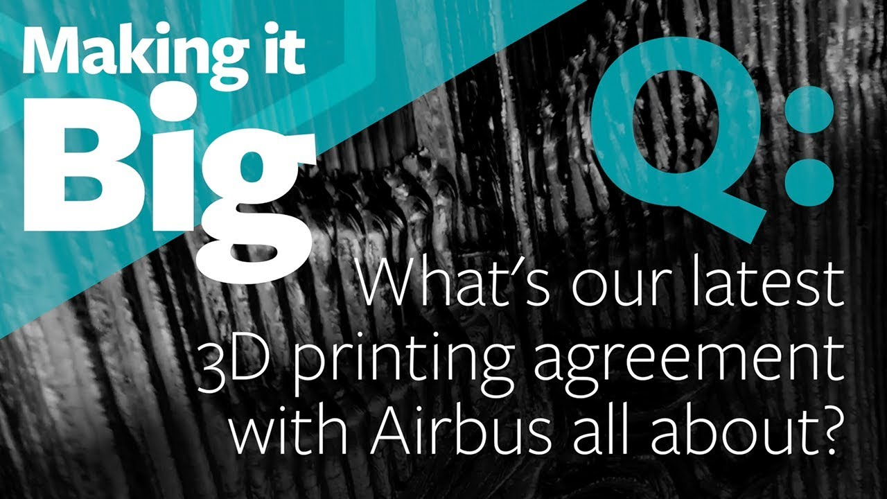 Arconic, Airbus to Advance 3D Printing for Aerospace