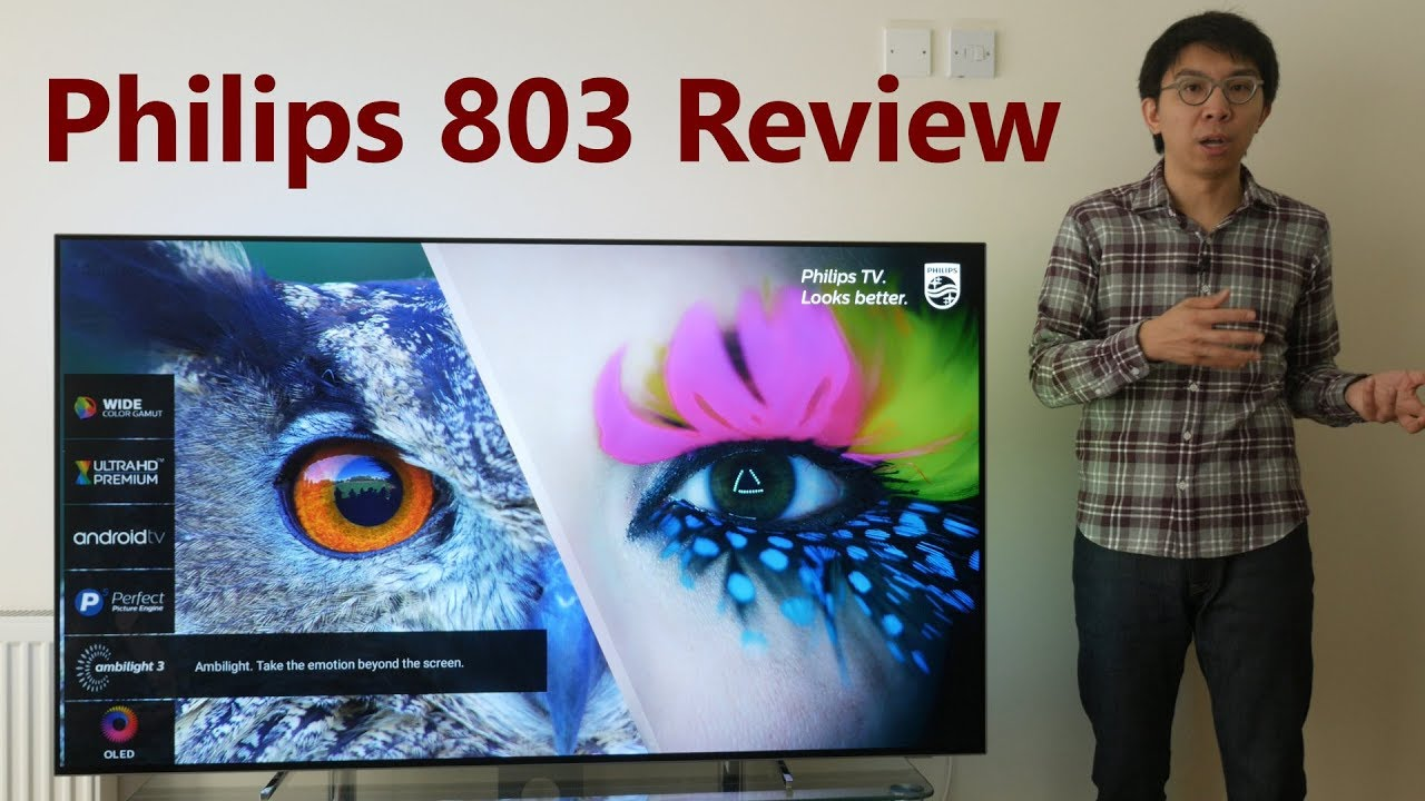 Philips 803 Ambilight OLED TV Review