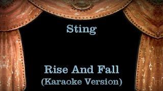 Sting Rise And Fall Lyrics Karaoke Version