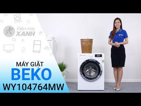 Máy Giặt Beko Inverter 10 Kg WY104764MW - Đánh Bay Những Vết Bẩn Cứng đầu Nhất | Điện Máy XANH
