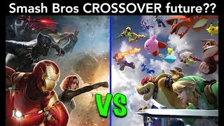 Is the FUTURE of Super Smash Bros in CROSSOVERS? (Nintendo Switch) | Ro2R