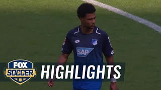RB Leipzig vs. 1899 Hoffenheim | 2017-18 Bundesliga Highlights