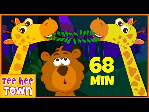 Jungle Song | Animal Songs | Animal Sounds For Kids | Popular Nursery Rhymes Collection
