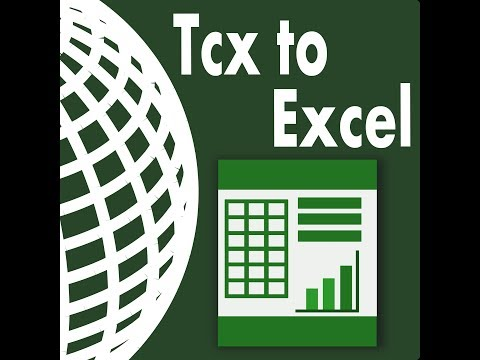 Tcx To Excel