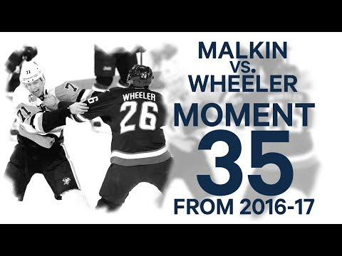 No 35/100: Malkin fights Wheeler out of respect