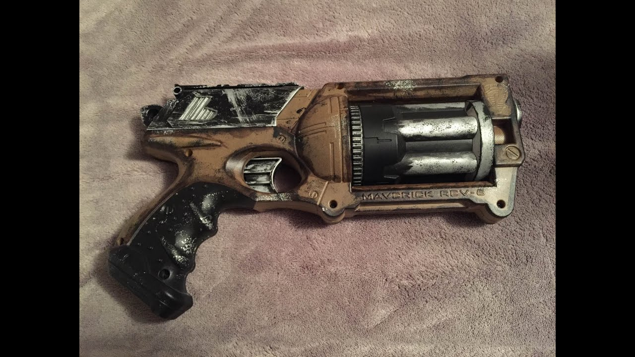 Steam Punk Nerf Paint Job